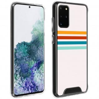 Handyhülle für Galaxy S20 Plus, Made in France ? Stripes Design
