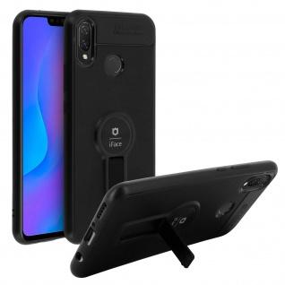 Magnethülle, Silikonhülle für Huawei P Smart Plus, Standcase - Schwarz - Vorschau 2
