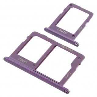 1x Nano SIM-Kartenhalter, 1x Nano SIM-/Micro-SD Kartenhalter für Galaxy J6