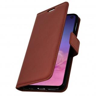 Flip Stand Cover Brieftasche & Standfunktion für Samsung Galaxy S10e - Braun - Vorschau 2