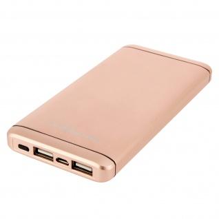 Akashi Tragbarer Akkupack für Smartphones und Tablets - 10000 mAh - Gold