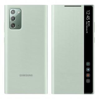 Original Samsung Clear View Cover für Samsung Galaxy Note 20 â€? Weißgrün