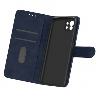 Flip Cover Geldbörse, Etui Kunstleder für Xiaomi Mi 11 5G â€? Dunkelblau