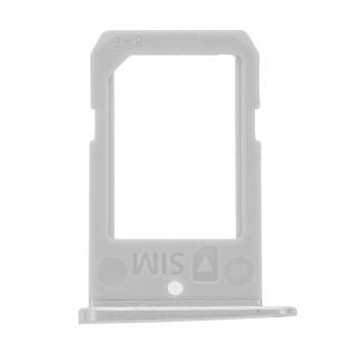 Nano-Sim-Ersatz-Kartenhalter für Samsung Galaxy S6 Edge - Silber - Vorschau 1