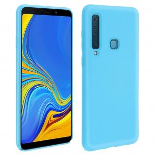 Samsung Galaxy A9 2018 Soft Touch Silikonhülle, soft case - Türkisblau