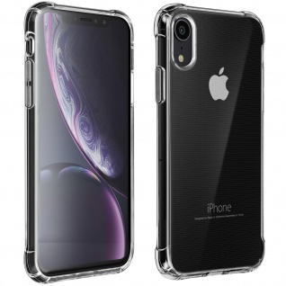 Flexible Apple iPhone XR Silikon Bumper Hülle, stoßfest ? Transparent
