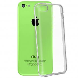 Apple iPhone 5C Ultra-Clear unverbrüchliche Schutzhülle aus Silikon -Transparent