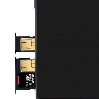 1x Nano SIM-Kartenhalter, 1x Nano SIM-/Micro-SD Kartenhalter für Galaxy J5 2017 - Vorschau 3