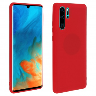 Forcell Huawei P30 Pro Soft Touch Silikonhülle, soft case - Rot
