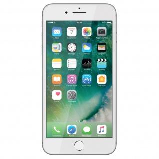 Bruchsichere Displayschutzfolie voller Schutz iPhone 7 Plus/8 Plus - Rand Weiß