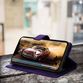 Flip Stand Cover Brieftasche & Standfunktion Apple iPhone XR - Violett 5