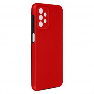 Schutzhülle für Samsung Galaxy A32 5G, Vorder- + Rückseite ? Rot