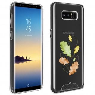 Handyhülle für Samsung Galaxy Note 8, Made in France ? Herbstlaub Design