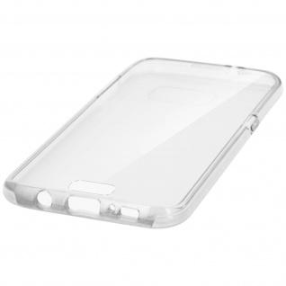 Mocca Schutzhülle Vorder- Rückseite für Samsung Galaxy S7 Edge - Transparent