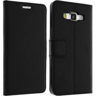 Flip-Schutzhülle mit Standfunktion für Samsung Galaxy A5 - Schwarz