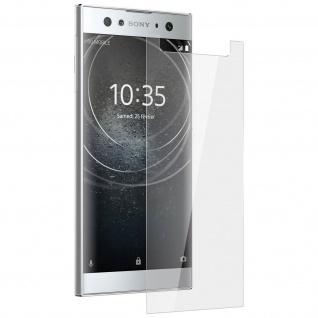 9H Displayschutzfolie aus Glas für Xperia XA2 Ultra bruchsicher - Transparent
