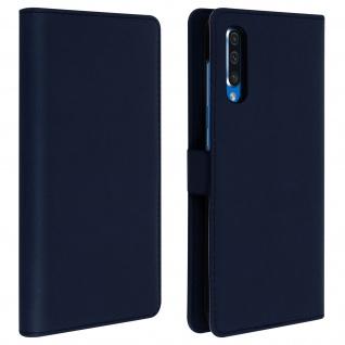 DZgogo Klappetui mit Kartenfach & Standfunktion Samsung Galaxy A50 Dunkelblau