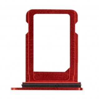 Nano-Sim-Kartenhalter, Halter Ersatzteil für Apple iPhone 12 ? Rot
