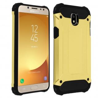 Defender II schockresistente Schutzhülle Samsung Galaxy J5 2017 - Gold