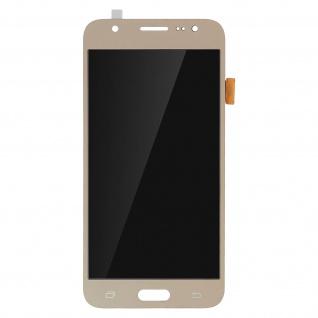 Ersatzdisplay mit Galaxy J5 (2015) kompatibel, Scheibe vormontiert - Gold