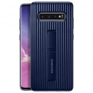 Original Samsung Standing Backcover Case für Samsung Galaxy S10 Plus - Schwarz
