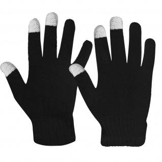Winter Touchscreen-Handschuhe für Männer, gestrickt - Schwarz