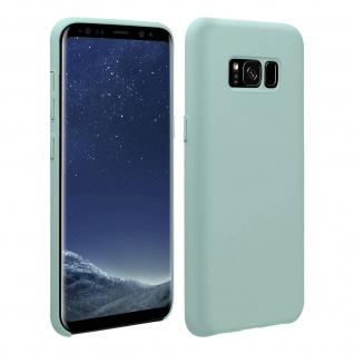 Halbsteife Silikon Handyhülle Galaxy S8, Soft Touch - Grün