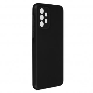 Schutzhülle für Samsung Galaxy A72, Vorder- + Rückseite ? Schwarz
