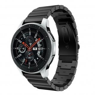 Premium Armband aus Edelstahl für Samsung Galaxy Watch 46 mm ? Schwarz