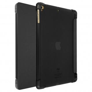 iPad 9.7 2017/iPad 5/iPad 2018 Slim Case Video Stand Stylus Holder - Schwarz