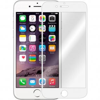Displayschutzfolie aus Hartglas für iPhone 6/ iPhone 6S ? Rand Weiß