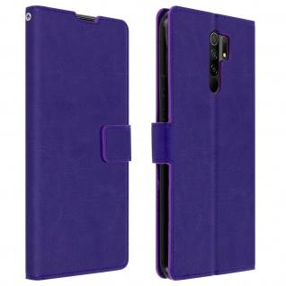 Flip Stand Case Brieftasche & Standfunktion für Xiaomi Redmi 9 ? Violett