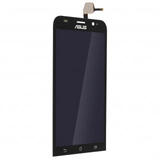 Ersatzdisplay mit ZenFone 2 ZE551ML kompatibel, Scheibe vormontiert - Schwarz
