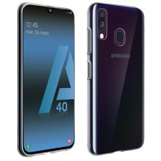 Samsung Galaxy A40 Schutzhülle Silikon Second Skin - Transparent