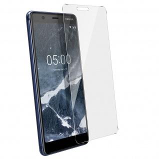Displayschutzfolie aus gehärtetem Glas für Nokia 5.1 - 9H Härtegrad