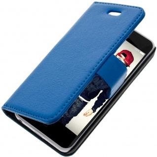 Flip-Schutzhülle mit Standfunktion für Apple iPhone 5C - Blau