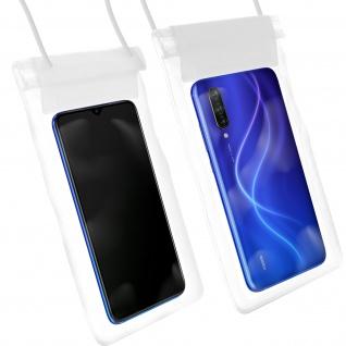 Wasserdichte Handyhülle für Smartphones, mit Trageschlaufe - Transparent