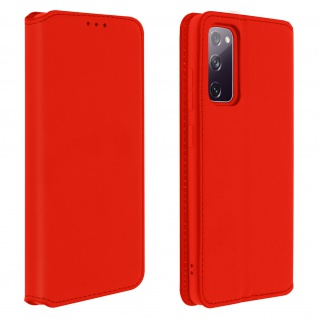 Kunstleder Cover Classic Edition Samsung Galaxy S20 FE � Rot