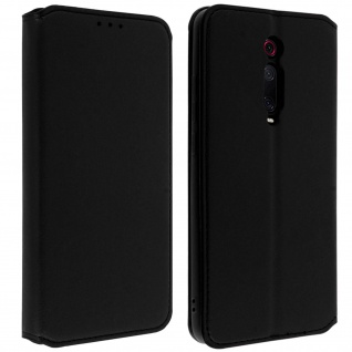 Kunstleder Cover Classic Edition Xiaomi Mi 9T ? Schwarz