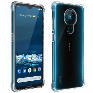 Imak Impact Schutz Set: Folie + Hülle für Nokia 5.3 ? Transparent