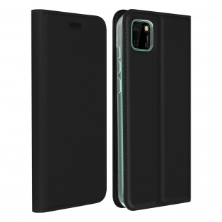 Klappetui mit Kartenfach & Standfunktion Huawei Y5p - Schwarz