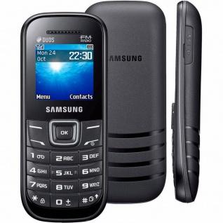 Samsung Keystone 2 GT-E1205Y Handy TFT 800mAh - Schwarz