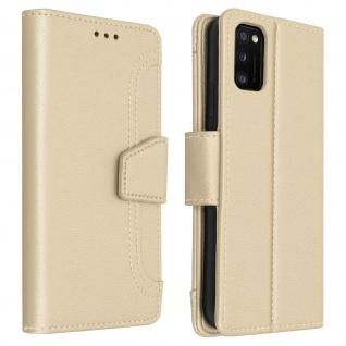 Samsung Galaxy A41 Klapphülle mit Portemonnaie ? Gold