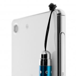 Ausziehbarer Eingabestift für Touchscreen 3.5 Klinkenstecker ? Türkisblau - Vorschau 4