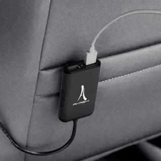 Akashi - Zigaretten-Anzünder Autoladegerät 7.3A Ausgangsleistung / 4x USB-Ports