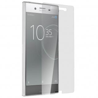 Sony Xperia XZ Premium Schutz-Set - transparente Hülle + Glas-Displayschutzfolie