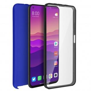 Schutzhülle für Xiaomi Mi 10T / Mi 10T Pro, Vorder- + Rückseite ? Blau
