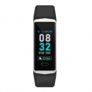 Lemonda B5 Smartwatch, IP68 Wassergeschützt, Aktivitätstracker - Schwarz / Grau