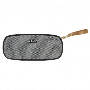 LinQ 4.2 Bluetooth Lautsprecher mit SD-Kartenslot/Micro-USB/FM - Grau/Schwarz