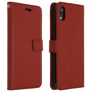 Flip Stand Cover Brieftasche & Standfunktion Apple iPhone XR - Braun